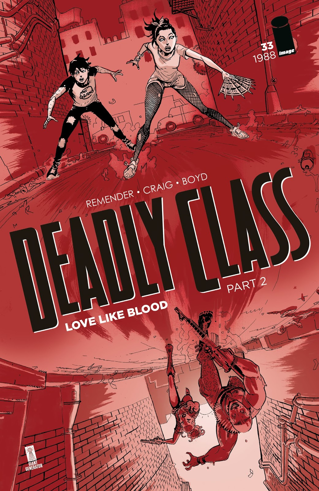 Review and Thoughts: Deadly Class Issue #33 - THE INTELLIGENTIA